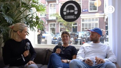 rendez-vous with with mandana & thabo getsome @ 10 years of clubbing tv at the amsterdam dance event