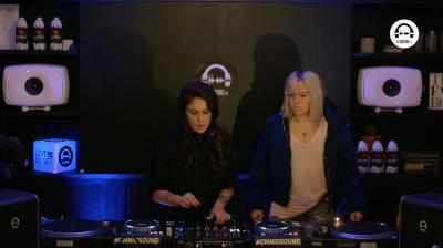 live dj set with mar flores b2b paula serra @ amsterdam dance event