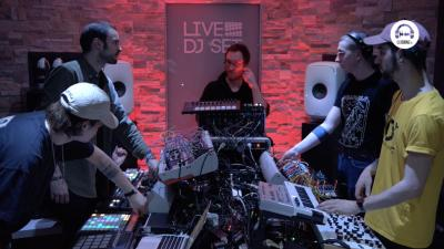live dj set with vernacular orchestra - live act month