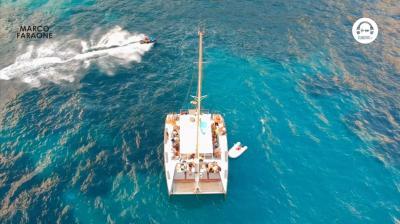 pyhu - boat party with marco faraone @ ibiza