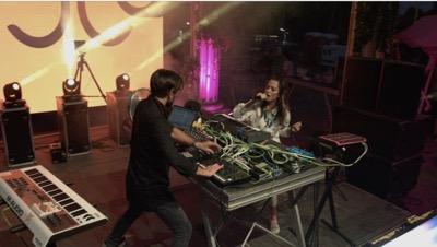 rodriguez jr. & liset alea @ opening concert - family piknik