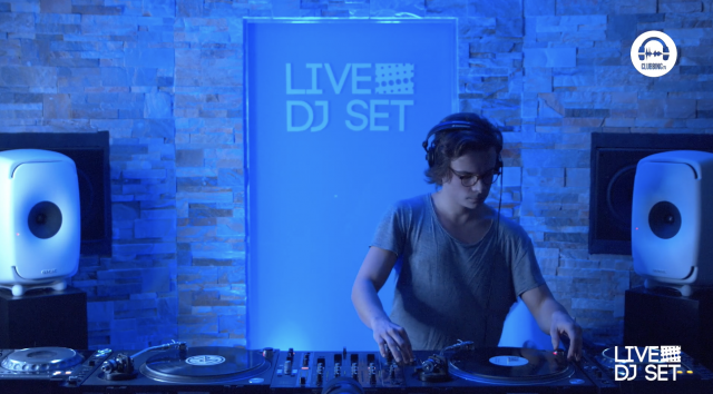 live dj set with cordeiro