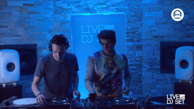 live dj set with moon & edouard!