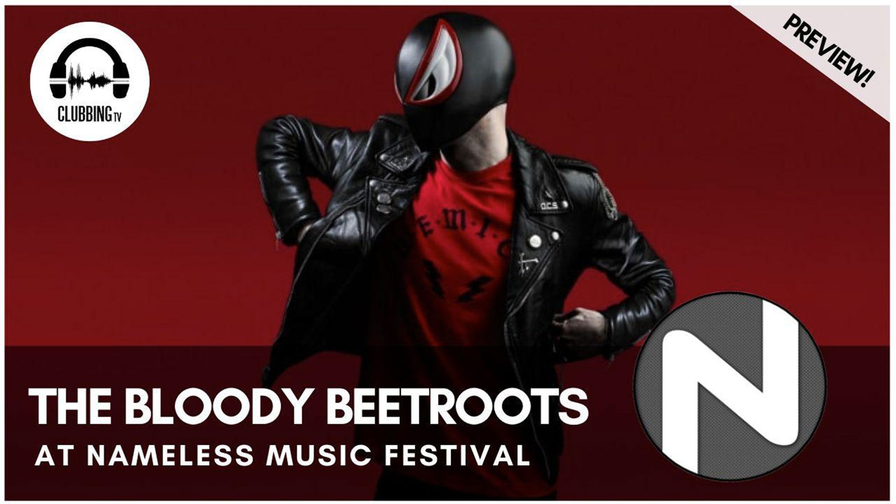 Clubbing Experience with The Bloody Beetroots @ Nameless Music Festival