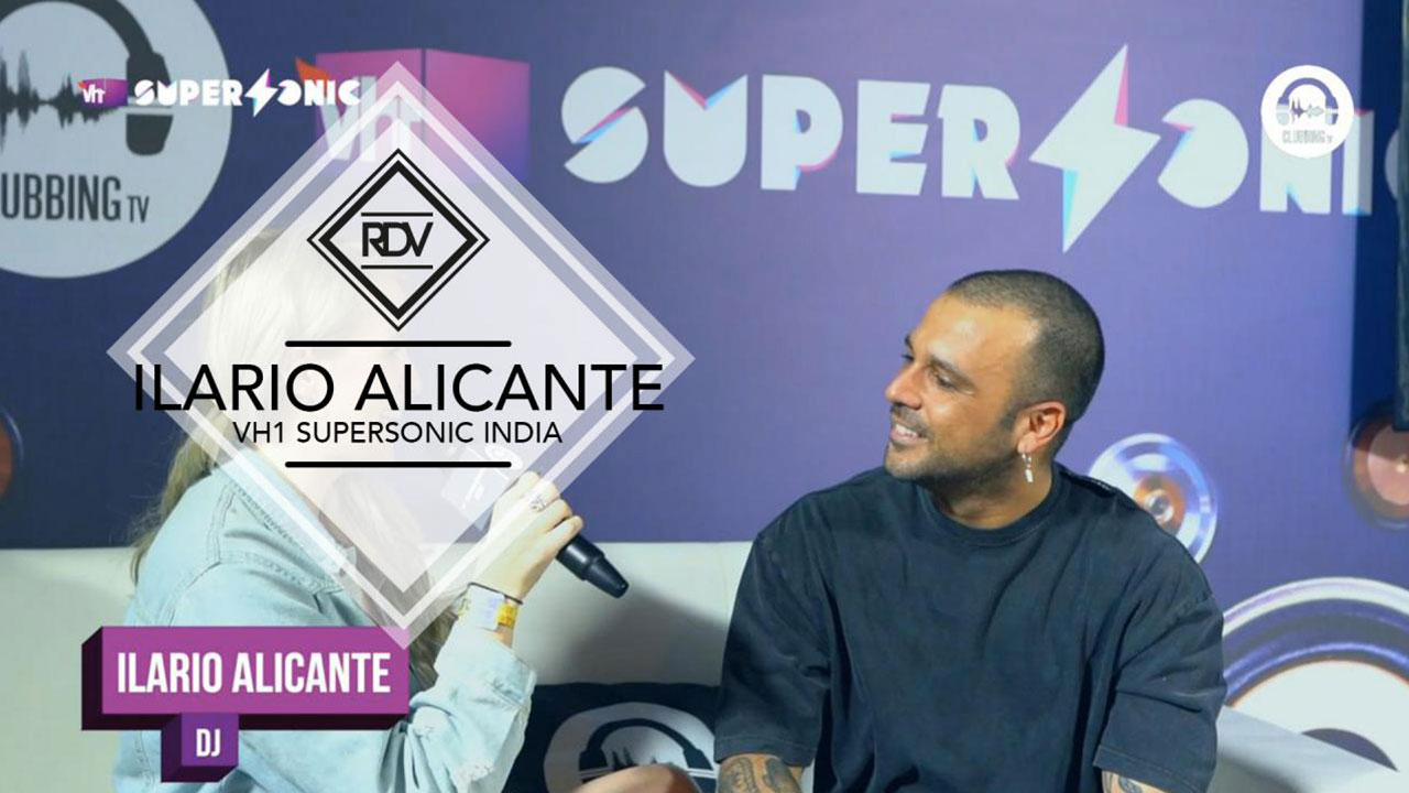 Rendez-vous with Ilario Alicante @ VH1 Supersonic India