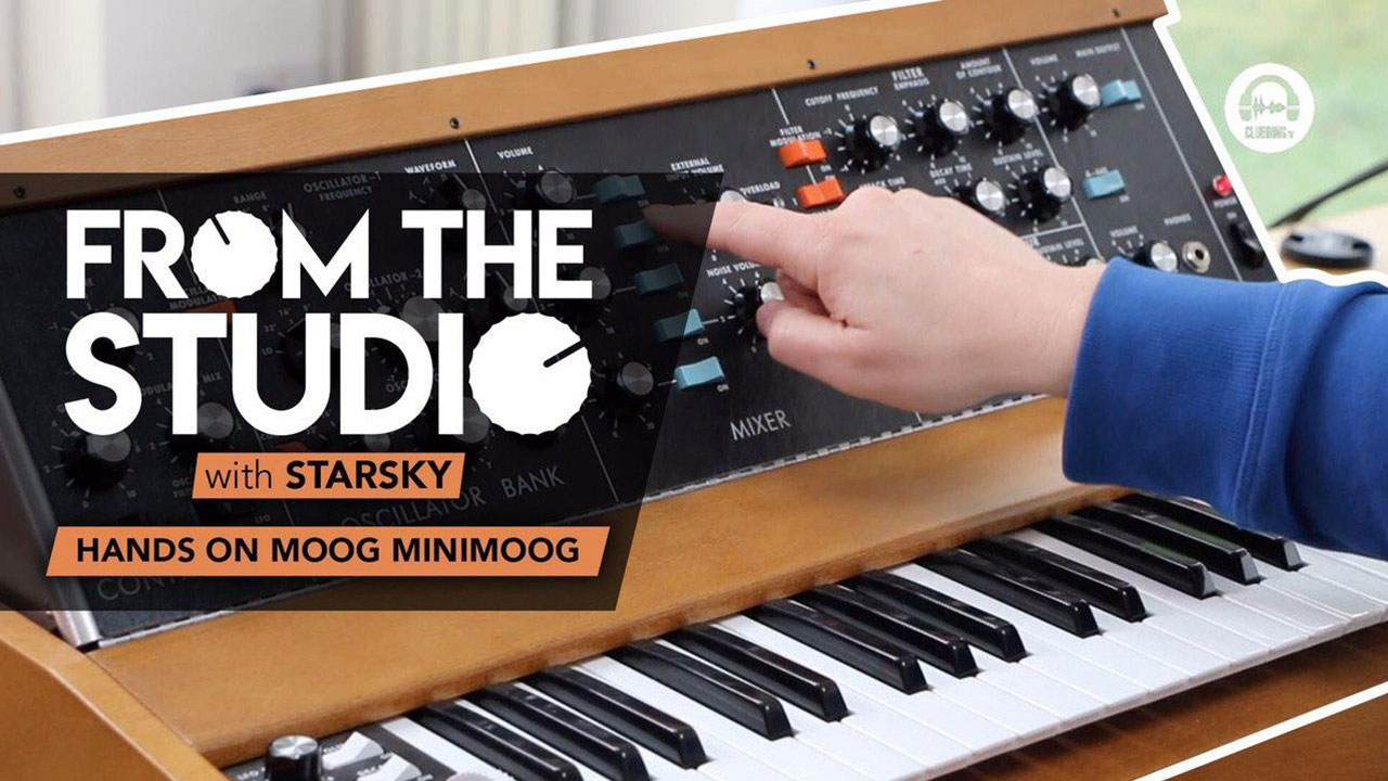 From The Studio - Hands on Moog Minimoog