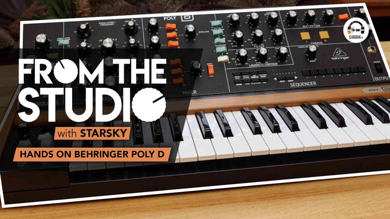 From The Studio - Hands on Behringer Poly D