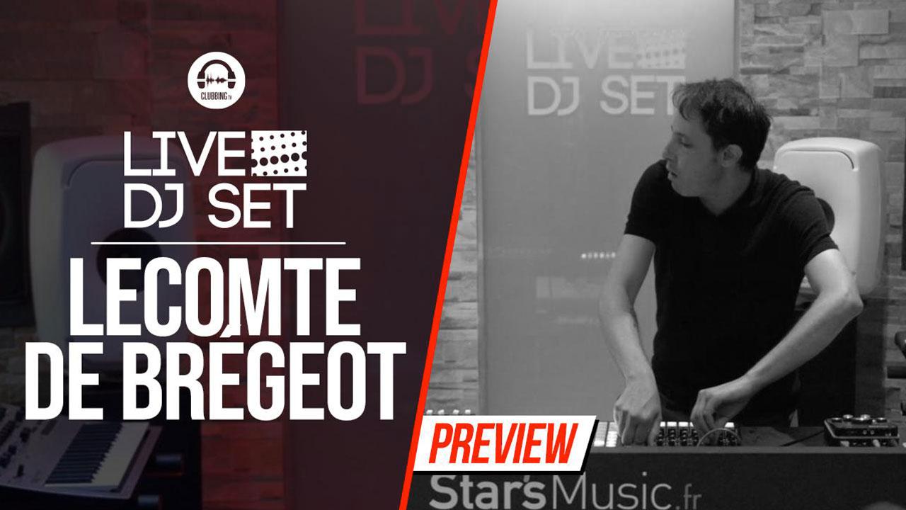 Live DJ Set with Lecomte de Brégeot