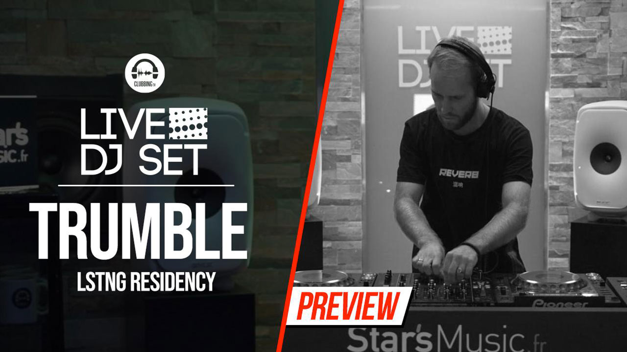 Live DJ Set with Trumble - LSTNG residency