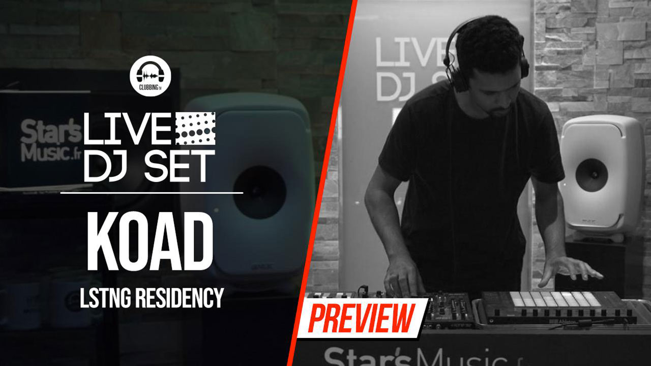 Live DJ Set with KOAD - LSTNG residency