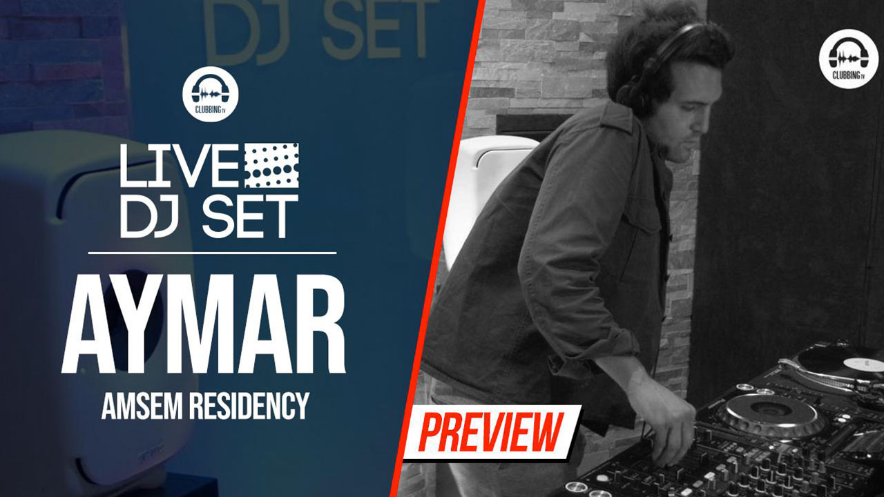 Live DJ Set with Aymar - Amsem Residency