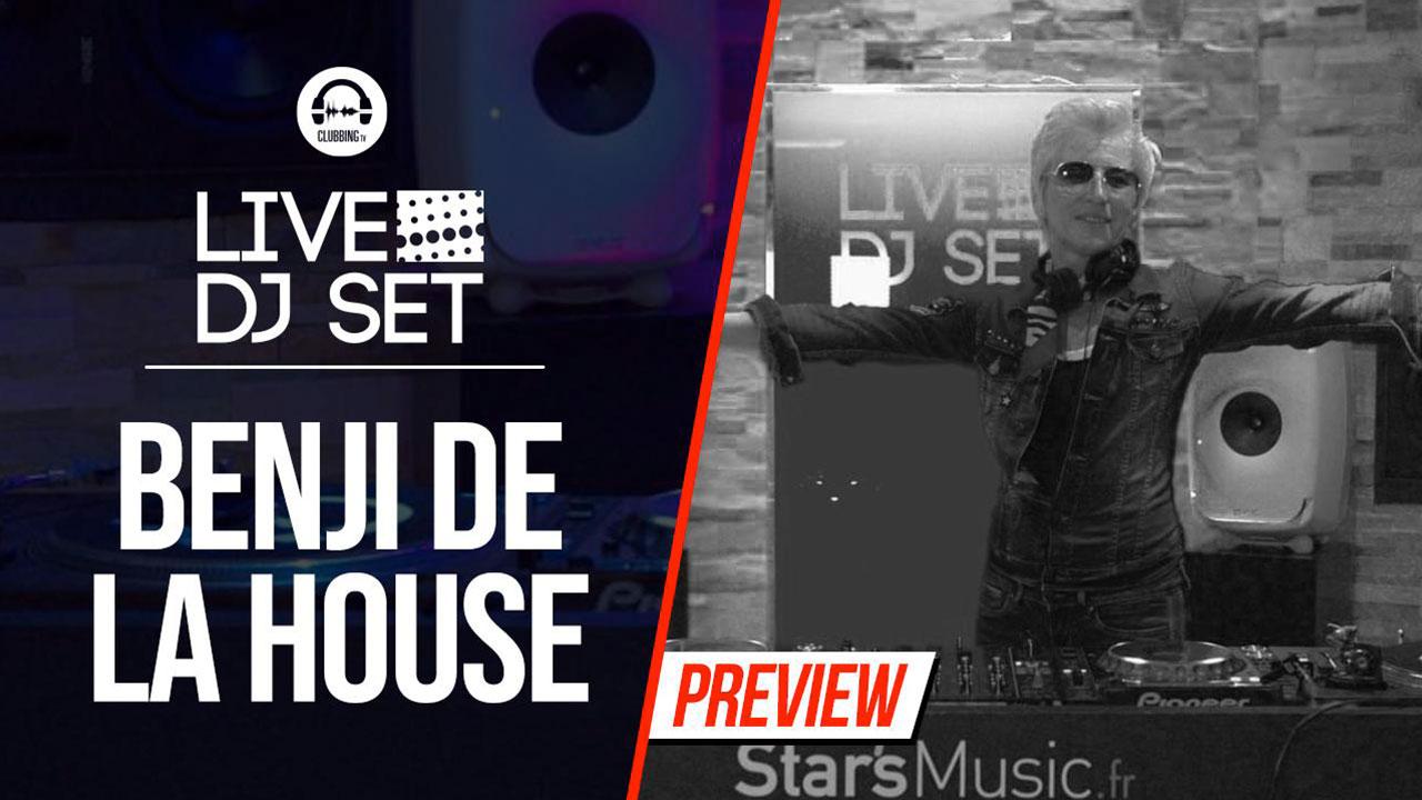 Live DJ Set with Benji de la House