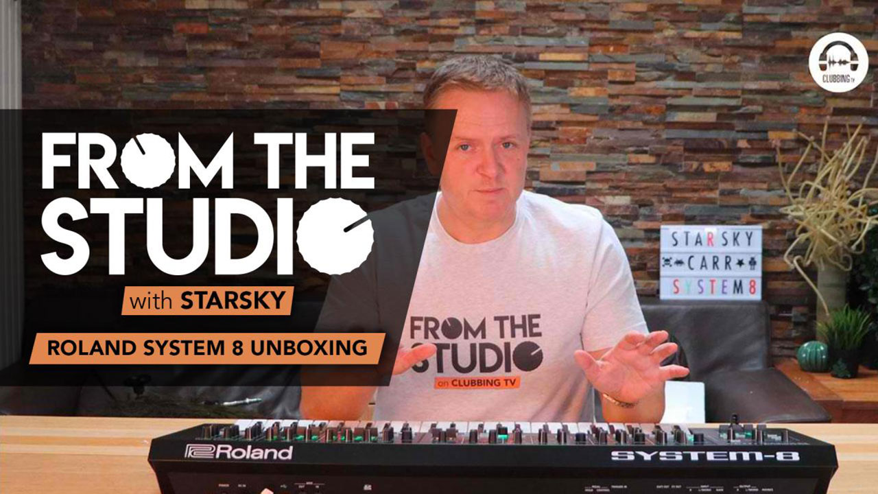 From The Studio - Roland System 8 Unboxing