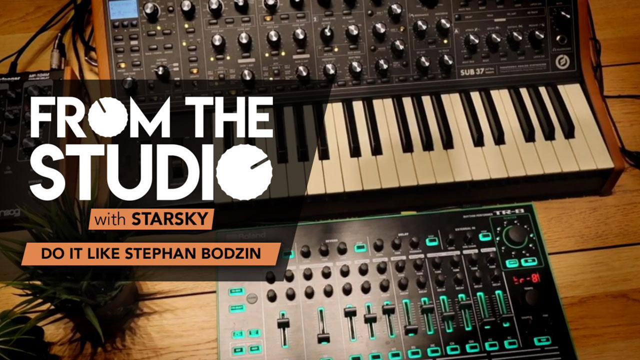 From The Studio - Do it Like Stephan Bodzin