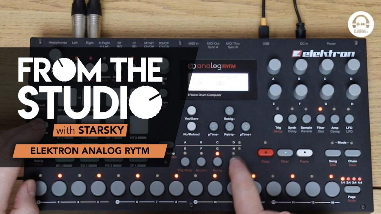 From The Studio - Elektron Analog Rytm