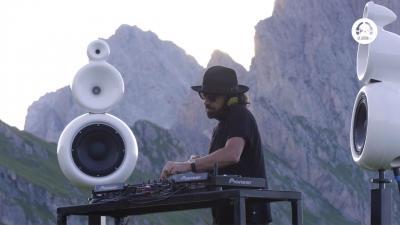 Benny Benassi @ live Baita Sofie DOLOMITES Val Gardena Italy / Panorama ep.2