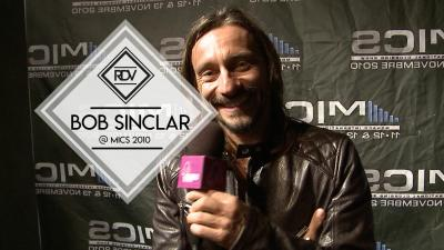 Rendez-vous with Bob Sinclar @ MICS 2010
