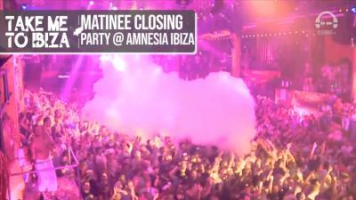 Matinee Closing Party @ Amnesia Ibiza