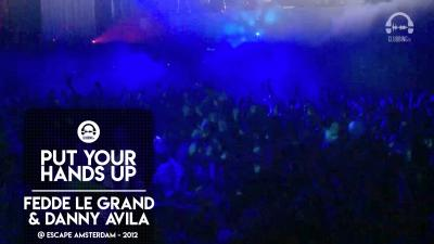 Ministry Of Sound presents Fedde Le Grand & Danny Avila @ Escape Amsterdam - 2012