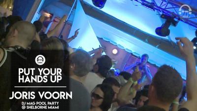 DJ MAG Pool Party @ The Shelborne Miami with Joris Voorn - 2010
