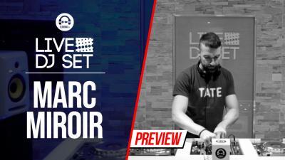 Live Dj Set with Marc Miroir