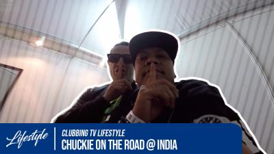 Chuckie on the road @ INDIA - Sunburn Festival Tour '15 pt1