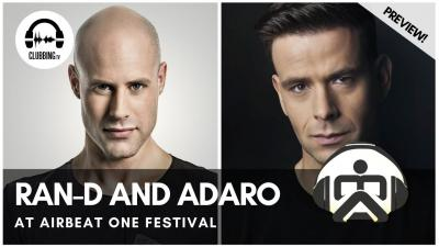 Clubbing Experience with RanD and Adaro - Q Dance Stage @ Airbeat One festival 2017