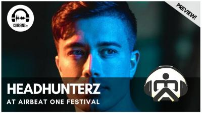 Clubbing Experience with Headhunterz @ Main Stage - AirBeatOne Festival