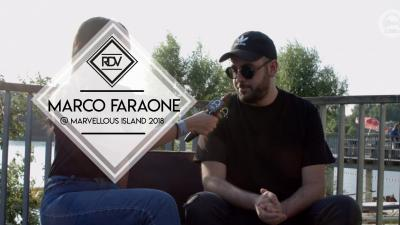 Rendez-vous with Marco Faraone @ Marvellous Island 2018