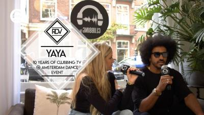 Rendez-vous with with Yaya (Hyte) @ 10 Years of Clubbing TV at the Amsterdam Dance Event