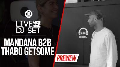Live DJ Set with Mandana b2b Thabo Getsome (Hyte)