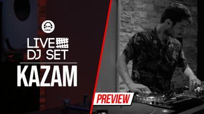 Live DJ Set with Kazam