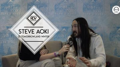 Rendez-vous with Steve Aoki @ Tomorrowland Winter