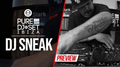 Pure DJ Set Ibiza with DJ Sneak