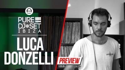 Pure DJ Set Ibiza with Luca Donzelli - Pyramid Ibiza