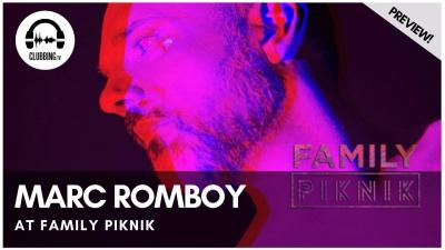Clubbing Experience with Marc Romboy (Live) @ Family Piknik 2019 - Opening Concert