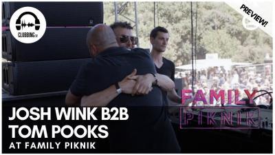 Clubbing Experience with Josh Wink b2b Tom Pooks @ Family Piknik 2019