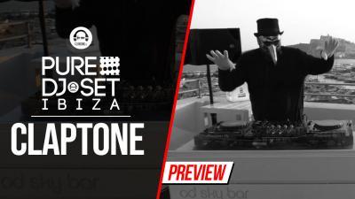 Pure DJ Set Ibiza with Claptone @ OD Hotel Ibiza