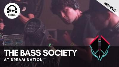 Clubbing Experience with The Bass Society @ Dream Nation 2019 - Bass Stage