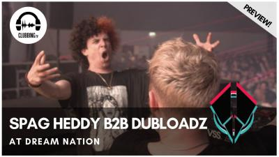 Clubbing Experience with Spag Heddy b2b Dubloadz @ Dream Nation 2019 - Bass Stage