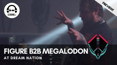 Clubbing Experience with Figure b2b Megalodon @ Dream Nation 2019 - Bass Stage