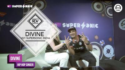 Rendez-vous with Divine @ VH1 Supersonic India