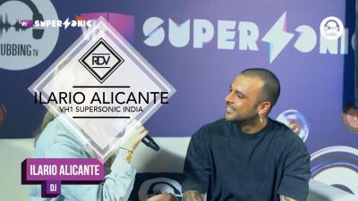 Rendez-vous with Ilario Alicante @ VH1 Supersonic India