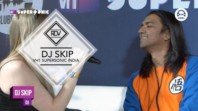 Rendez-vous with DJ Skip @ VH1 Supersonic India