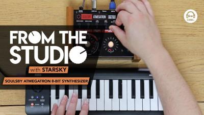 From The Studio - Soulsby Atmegatron 8-Bit Synthesizer