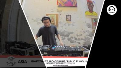 United We Stream #29 Kingston - Narrow Marrow (Ze Arcade Paint / Public School KL)