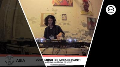 United We Stream #29 Josh Mosh - Narrow Marrow (Ze Arcade Paint)