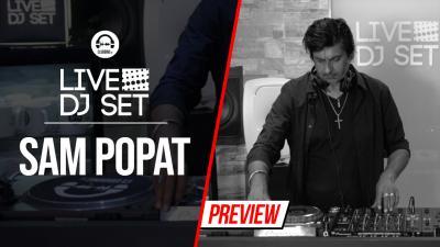Live DJ Set with Sam Popat