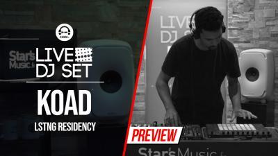 Live DJ Set with KOAD - LSTNG residency