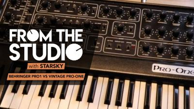 From The Studio - Behringer Pro1 vs Vintage Pro-One